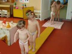Плоскостопие в детском саду
