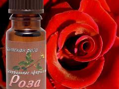 Эфирное масло розы и его применение