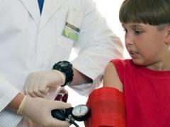 Артериальное давление у детей