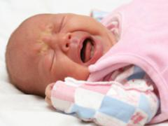 колики у младенцев