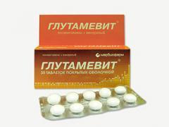 Глутамевит - витаминное средство