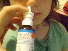 Аква Марис для лечения насморка