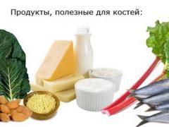 Какие продукты полезно есть при переломах