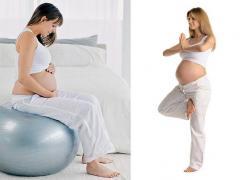 болит копчик при беременности, лечебная физкультура