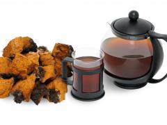 как приготовить чай из чаги