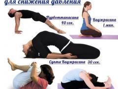 упражнения йоги от повышенного артериального давления