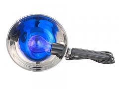 Как греть нос при насморке синей лампой
