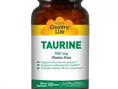 В каких продуктах содержится таурин