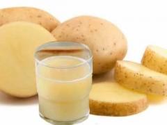картофельный сок, лечение атеросклероза