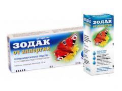 препарат Зодак