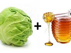 мед и капуста для компрессов