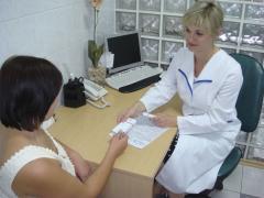 посетить гинеколога