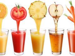 очищение кишечника без клизмы, соками