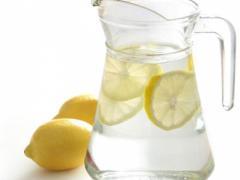 вода с лимоном для профилактики солнечного лишая