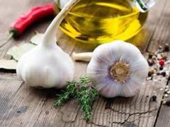 чеснок и постное масло для чистки сосудов