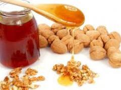 мед и орехи против холестерина