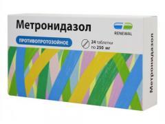 метронидазол для лечения кольпита