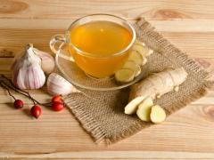 имбирь, мед, чеснок - жиросжигающие продукты