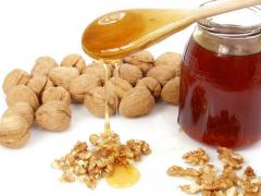 мед и семечки тыквы