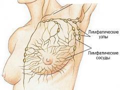 увеличение лимфоузлов при грудном вскармливании у женщин