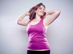 отложение жировых запасов по мужскому типу, на животе