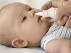 лечение насморка у детей, Отривин