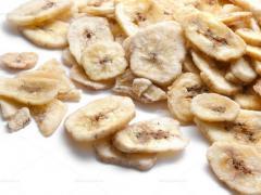 банановые чипсы калорийность