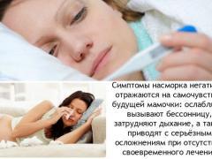 причины возникновения отита и насмрка, лечение