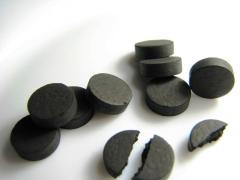 уголь помогат от похмелья