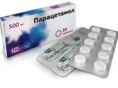 парацетамол от головной боли