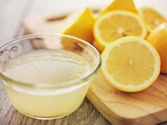 лимонный сок для лечения простуды на губах