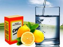 сода и лимон для удаления зубного налета