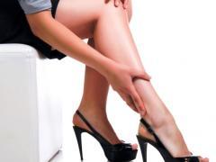ношение высоких каблуков