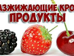 фрукты для разжижения крови