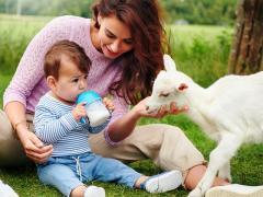 Питание ребенка, аллергия на коровье молоко
