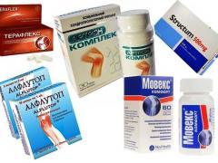 Средства для лечения остеохондроза