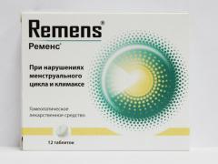Препарат Ременс выпускается в виде капель и таблеток