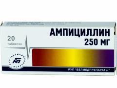 Ампициллин используют при вирусных и бактериальных заболеваниях