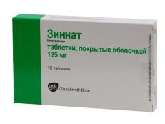 Отзывы пациентов о Зиннате говорят о наличии побочных эффектов