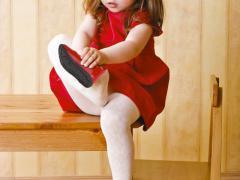 О состоянии стопы расскажет детская обувь