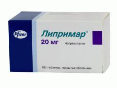 Инструкция препарата Липримар: отзывы и аналоги
