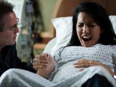При родах часто применяется обезболивание