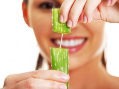 При гинекологических заболеваниях полезно пить сок алоэ