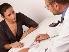 Гинеколог должен провести дифференциальную диагностику