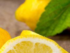 Лимон усиливает работу пищеварительной системы