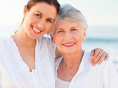 Мини-имплантами остаются довольными люди преклонного возраста