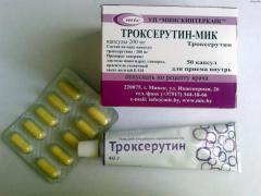 Гель Троксерутин используют для лечения геморроя