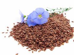 Семена льна отличаются питательной нагрузкой