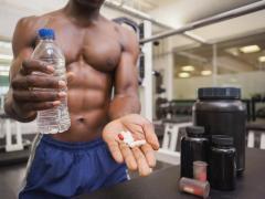 Цинк помогает нарастить мышечную массу