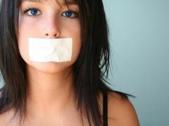 Во время лечения нужно соблюдать молчание